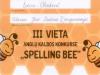 Dyplom Spelling Bee 2